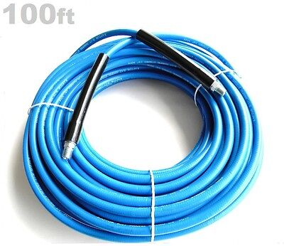 Carpet Cleaning 100ft Truckmount High Pressure Solution Hose 275 Deg