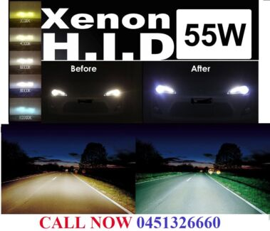 HID XENON CONVERSION KIT 55W ALL MODELS Richlands Brisbane South West Preview