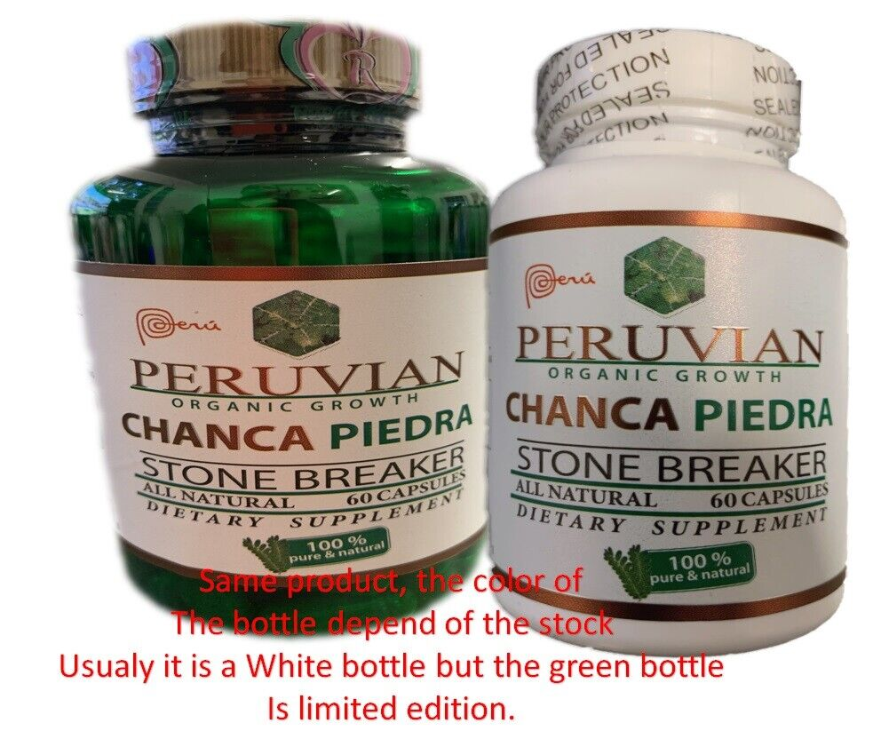 60 CAPS KIDNEY SUPPORT STONE BREAKER CHANCA PIEDRA Herbal liver Support quebra  1