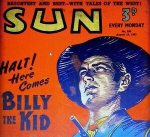 THE SUN (1953-1956) (DISC 2) RETRO VINTAGE COMICS ON DVD