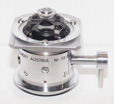 Reichert Zetopan Microscope Two Diaphragm Brightfield Condenser 0.95 1.30 N.a.