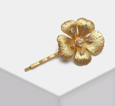Jennifer Behr Good Tone Crystal Flower Hairclip