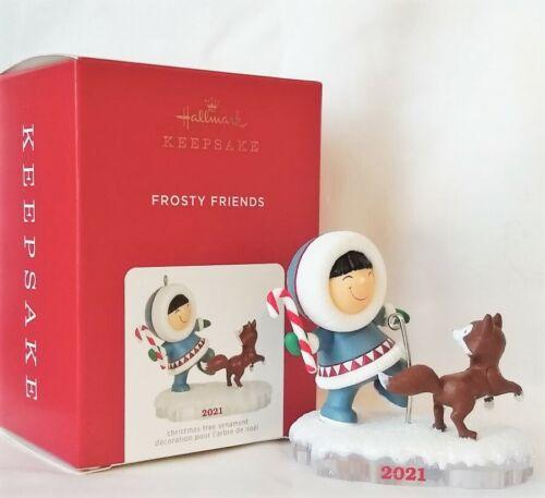Hallmark 2021 FROSTY FRIENDS 2021 Ornament, 42nd in Frosty Friends Series