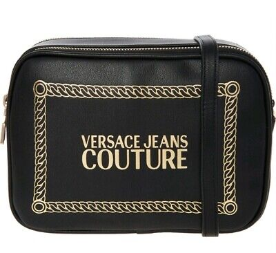 VERSACE JEANS COUTURE  Black  Cross Body Bag*** NEW WITH TAGS*** RRP£155