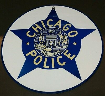 Chicago Police department CPD logo sign .. crest insignia