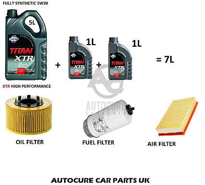 FORD TRANSIT MK6 2.0 & 2.4 SERVICE KIT AIR OIL FUEL FILTERS 7L ENGINE OIL 00/06