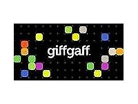 FREE Giffgaff sim card with £10 FREE credit FREE worldwide delivery
