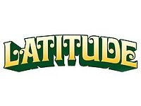 Staff required for Latitude Festival this week