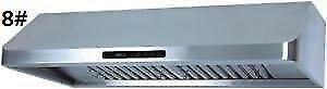 Crown under cabinet powerful range hood from $199(new) City of Montréal Greater Montréal image 8