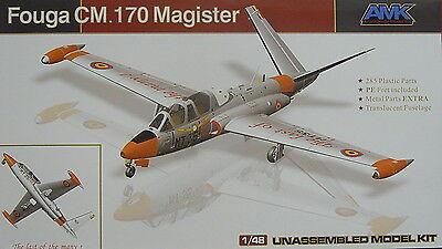 Neuheit Waffen (Fouga CM.170 Magister, Luftwaffe, Belgium,  France , 1:48, AMK, Neuheit )