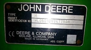 John Deere Tractor/Slasher/Post Hole Digger Helidon Spa Lockyer Valley Preview