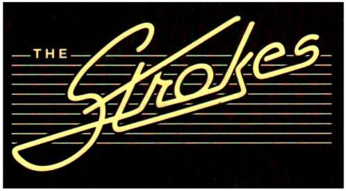 THE STROKES Future Present Past Ltd Ed RARE Sticker +FREE Indie Rock Stickers!