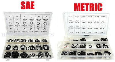 450pc O-ring Rubber Assortment Metric Sae Kit Tools Hydraulics Air Gas Hvac