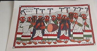 Ethiopian antique classic Ethiopian painting