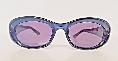 WOMEN'S DESIGNER GUCCI GREYBLUE GOGGLE SUNGLASSES MOD 2432/S OPTYL MADE IN ITALY