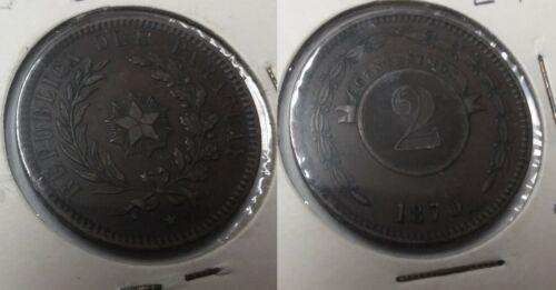 PARAGUAY 1870 2 Centesimos