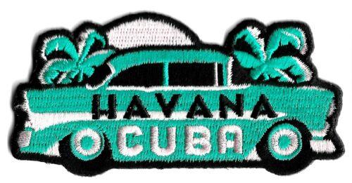 Havana Cuba - City Travel Patch Symbol Badge Emblem Insignia Logo