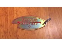 Vintage Harpoon Brewery Lager Beer Boston Sticker Decal IPA New Old Stock