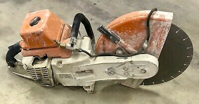 Stihl Ts 760 Concrete Cut Off Hand Saw 16 Gas Powered Wet Dry
