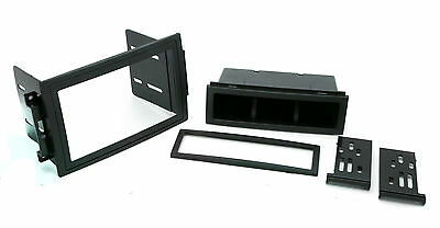 Double Sgl Din Dash Kit for Chrysler Radio Stereo Replace Install Plastic -