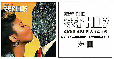 JANELLE MONAE & WONDALAND The Eephus 2015 Ltd Ed RARE New Sticker +FREE Stickers