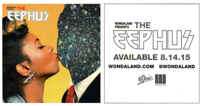 JANELLE MONAE & WONDALAND The Eephus 2015 Ltd Ed RARE New Sticker +BonusStickers