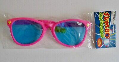 New Jumbo Novelty Sunglasses Costume Giant Glasses UV Protection Oversized (Oversized Novelty Glasses)