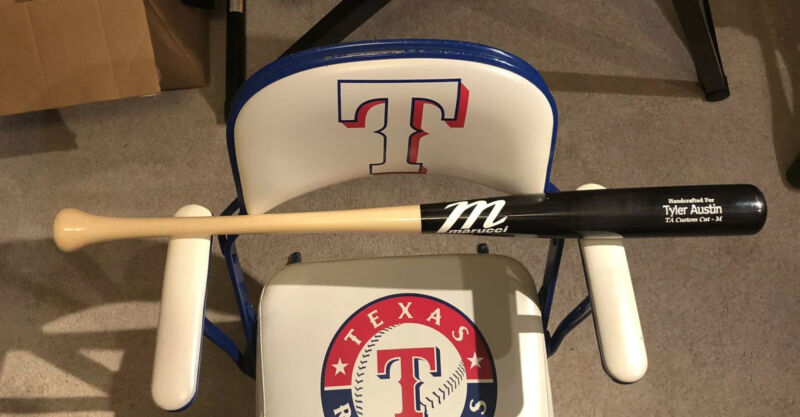 """TYLER AUSTIN #19 SAN FRANCISCO GIANTS GAME ISSUED MARUCCI MODEL TA Uncracked 34"""""""