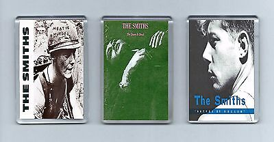 Magnets x 3 :THE SMITHS Meat Is Murder The Queen Is Dead Hatful Of Hollow  Indie