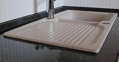 Beliebt Granit Spülbecken abdichten Küchen Einbauspüle Spüle Waschbecken AR25
