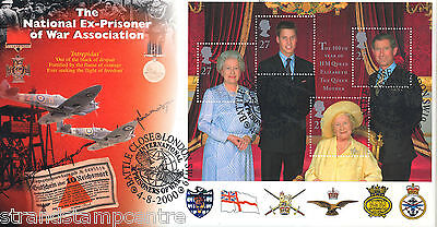 2000 Queen Mother - Steven Scott Ex-Prisoners Of War Official