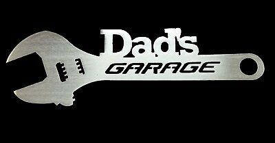 Dad's Garage -  Aluminum Metal Sign Gift for Father's Day man cave or garage - Dad's Day Gifts