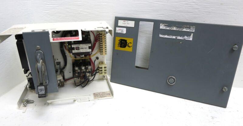 "Cutler Hammer F10 Unitrol Size 1 Starter 30A Breaker Type 12"" MCC Bucket 30 Amp"