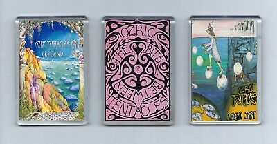 Magnets x 3 : OZRIC TENTACLES Erpland/Between the bits/Jurassic Shift