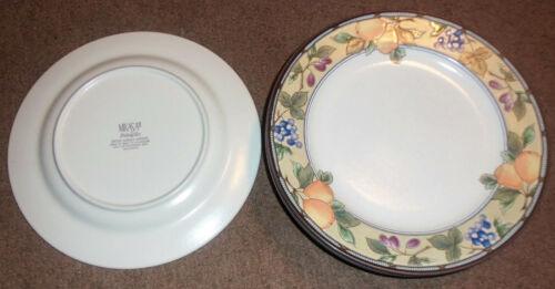 "Lot set 3 Mikasa Intaglio GARDEN HARVEST 11-1/8"" DINNER PLATES"