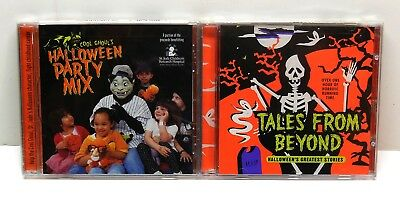Scary Music Halloween (HALLOWEEN Party Music Scary Tales & Sound Effects CD Lot NEW SEALED FAST)
