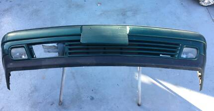 Mercedes w210 MY97 Compete Front Bumper with foglights