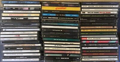BULK LOT CDs 80 Titles Rock Pop Good Condition ()