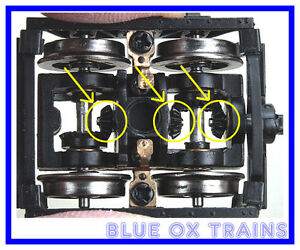 NWSL-2802-6-HO-Bachmann-2-truck-CLIMAX-Upgrade-Bevel-Gears-Kit
