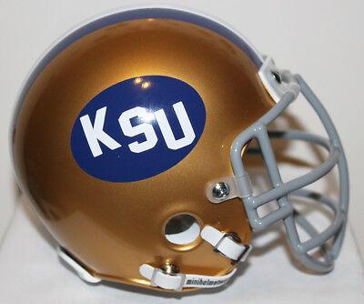 1972 Kent State Golden Flashes Custom Mini Helmet - Jack Lambert (Golden Flashes Mini Helmet)