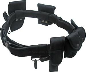 NEW - TACTICAL - SECURITY DUTY BELTS - IDEAL FOR AIRSOFT - PAINTBALL - AND ALL TYPES OF SECURITY WORK !