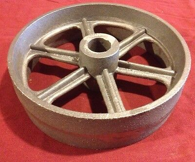 10 Inch Cast Iron Wheel Hit Miss Gas Engine Flywheel Cart Truck Fairbanks Ihc