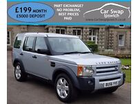 LAND ROVER DISCOVERY 3 TDV6 HSE (silver) 2006