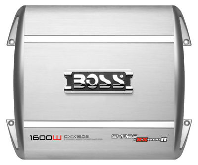 BOSS AUDIO CXX1602 2 CHANNEL 1600 WATT CAR STEREO AMP SUBWOOFER/SUB AMPLIFIER