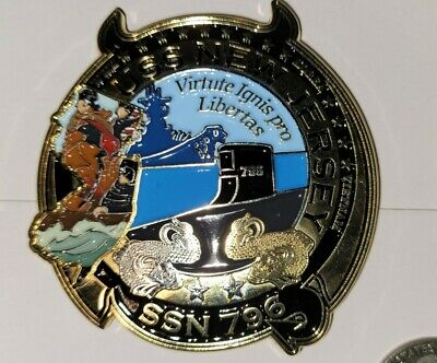 USS PCU New Jersey SSN 796 COIN Virginia Class Submarine