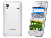 BRAND NEW Samsung GALAXY Ace GT-S5830i - White (Unlocked) Smart Phone Android