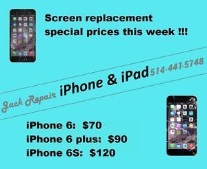 Repair iPhone and iPad / Réparation iPhone et iPad