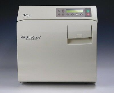Ritter M9 Ultraclave Sterilizer Gen 2 New Style - 90-day Warranty