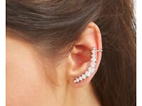 Full Ear Crystal Earring Cuff