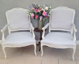 Elegant French Style Armchair - 2 available